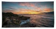 Kauai Seascape Sunrise Beach Sheet