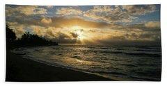 Kauai Sunrise Beach Towel