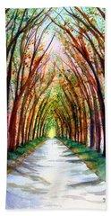 Kauai Tree Tunnel 4 Beach Sheet