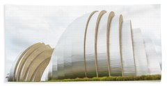 Kauffman Center Performing Arts Beach Sheet by Pamela Williams