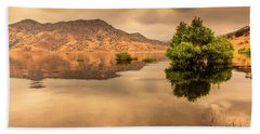Kaweah Lake California 4 Beach Towel