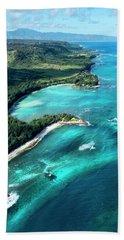 Kawela Bay, Looking West Beach Towel