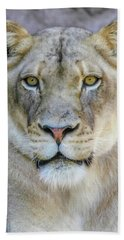 Kaya Portrait Beach Towel