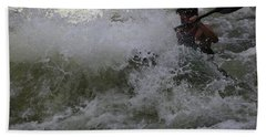 Kayaking Magic Beach Towel