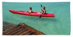 Kayaking Perfection 1 Beach Towel