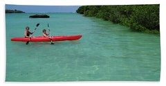 Kayaking Perfection 2 Beach Towel