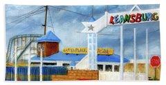Keansburg Amusement Park Beach Towel