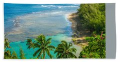 Kee Beach Kauai Beach Towel