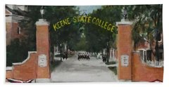 Keene State College Beach Towel by Jack Skinner