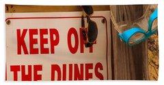 Keep Off The Dunes Beach Sheet
