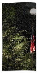 Keeping America  Illuminated.  Beach Towel