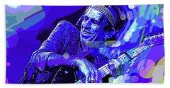Keith Richards Blue Beach Sheet