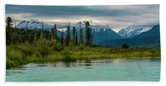 Beach Towel featuring the photograph Kenai by Gary Lengyel