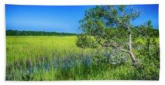 Kent Mitchell Nature Trail, Bald Head Island Beach Towel