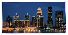 Beach Towel featuring the photograph Kentucky Blue by Andrea Silies
