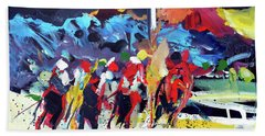 Kentucky Derby Day Beach Towel