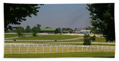 Kentucky Horse Park Beach Sheet by Kathryn Meyer