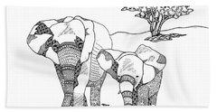 Kenyan Walk Beach Sheet
