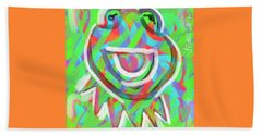 Kermit Beach Towel