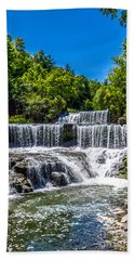 Keuka Outlet Waterfall Beach Towel