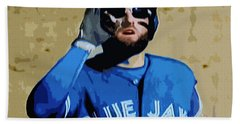 Kevin Pillar Beach Towel
