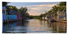 Key Largo Canal Beach Sheet