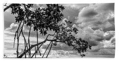 Key Largo Mangroves Beach Towel