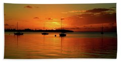 Key Largo Sunset Beach Towel