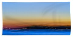 Key West Abstract Beach Towel