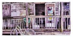 Key West Flower Shop Beach Sheet