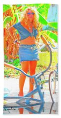 Key West Life Beach Towel
