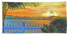 Key West Life Style Beach Towel