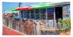 Key West Raw Bar Beach Towel