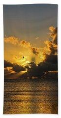 Key West Sunrise 39 Beach Towel