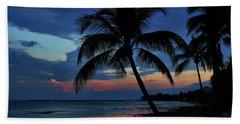 Key West Sunset No 1 Beach Towel