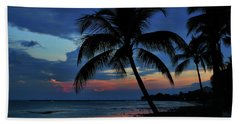 Key West Sunset No 1 Beach Sheet by Ron Grafe