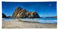 Beach Sheet featuring the photograph Keyhole Rock At Pheiffer Beach #14 - Big Sur, Ca by Jennifer Rondinelli Reilly - Fine Art Photography
