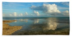 Keys Reflections Beach Towel