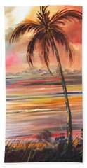 Keys Sunrise, Sunset Beach Towel