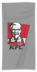 Kfc T-shirt Beach Sheet by Herb Strobino