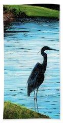Kiawah Heron Beach Towel