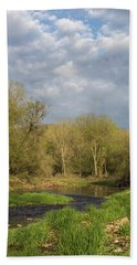 Kickapoo River Beach Towel