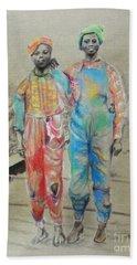 Kickin' It -- Black Children From 1930s Beach Sheet