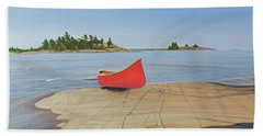 Killarney Canoe Beach Towel