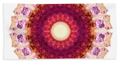 Kindness Mandala Art By Sharon Cummings Beach Towel