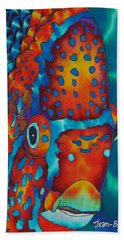 King Angelfish Beach Towel