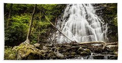 Crabtree Falls - Blue Ridge Parkway North Carolina Beach Sheet