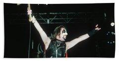 King Diamond Of Mercyful Fate Beach Towel