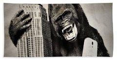 King Kong Selfie Beach Towel