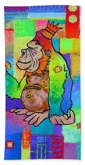 King Konrad The Monkey Beach Towel by Jeremy Aiyadurai